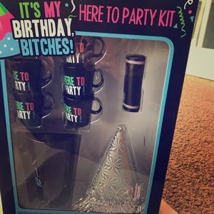 Other - New birthday party kit